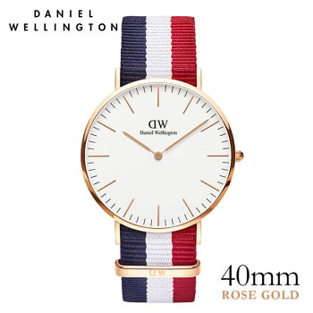 DanielWellington【ダニエルウェリントン】ケンブリッジ/ローズ40mm腕時計ClassicCambridge