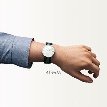 DanielWellington【ダニエルウェリントン】ウォリック/シルバー40mm腕時計ClassicWarwick