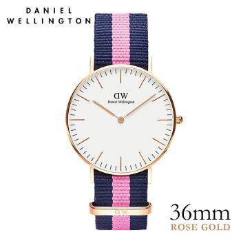 DanielWellington【ダニエルウェリントン】ウィンチェスター/ローズ36mm腕時計ClassicWinchester