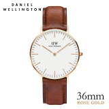 [�ݥ����10��][����̵��][������ 2ǯ�ݾ�][��ӥ塼�����ǥ���ʡ��ץ쥼���]2016��Ⱦ���ŷ����ӻ�����8�� ���˥��륦�����ȥ� �ӻ��� ���˥��륦�����ȥ����ܸ��ȥ� Daniel Wellington �ӻ��� 36mm ��� ��ǥ�����