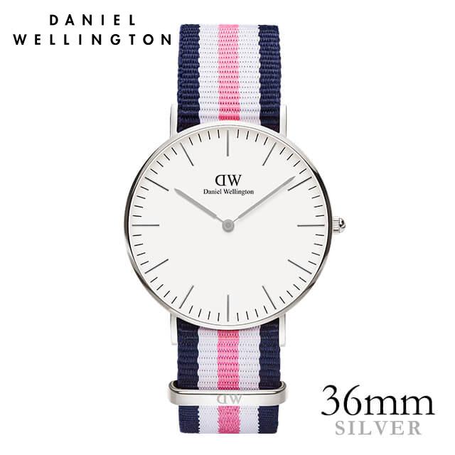 ダニエルウェリントン 36mm Daniel Wellington サウサンプトン シルバー メンズ レディース 腕時計