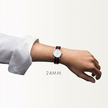 DanielWellington【ダニエルウェリントン】オックスフォード/シルバー26mmクラッシー腕時計ClassicOxford