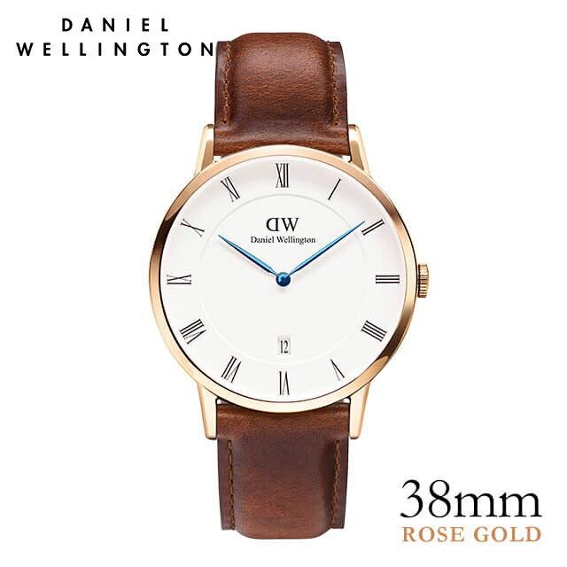 ダニエルウェリントン 38mm Daniel Wellington ダッパー セイントモーズ ローズ 腕時計