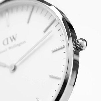 DanielWellington【ダニエルウェリントン】グラスゴー/シルバー36mm腕時計ClassicGlasgow