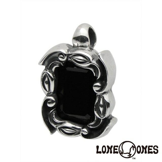 ロンワンズ【LONE ONES】ウィンドローズペンダント/M/オニキス