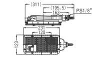 リンナイガス赤外線バーナーユニット(シュバンク)【R-601S2(A)】