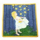 クリスマスセール!FEILER フェイラー Fairy tales The Star Talers 童話 星の金貨 【25cm】ハンカチ ハンドタオル 【メール便で送料無料】【RCP】