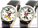 Disneyディズニー腕時計復活ミッキーマウスとミニー腕時計レディース送料無料 ポスト投函配送! ギフトにもビアリッツ