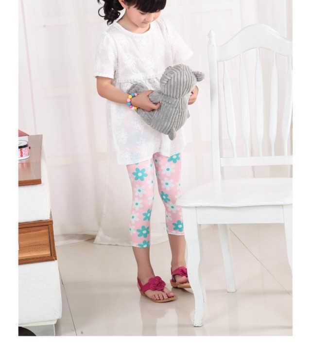 レギンス キッズレギンス 伸縮性 子供服 女の子 花柄 レギパン キッズ 韓国子供服 綿