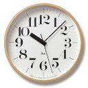 シンプル中に感じるデザイナーのこだわり ウォールクロック リキクロック 電波時計(RIKI CLOCK RC) WR07-11 タカタレムノス(TAKATA Lemnos)