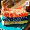 今治タオル Viagar(ピアジャール)Arabesque Face towel(アラベスクフェイスタオル) 全3色(Blue・Green・Orange)