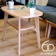 オークフレームサイドテーブル(Oak Frame Side Table) ナチュラル(Natural)・ブラック(Black) マルニ60(MARUNI60) ロクマルビジョン(60VISION) ナガオカケンメイ