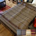 日本国内屈指のブランケット産地で仕上げられた極上毛布! I・Z・M woolen mills Blanket Basshu(バッシュ)全4タイプ(BUR、GRAY、BR、MULTI) 送料無料