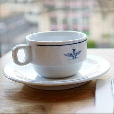 イタリア A.M.I.コーヒーカップ&ソーサ