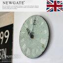 視認性抜群!使いやすいサイズ感あり♪ Countess(カウンテス) 掛時計・ウォールクロック NEW GATE (ニューゲート) 全4色(ホワイト、グレー、グ...