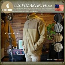 U.S Military POLARTEC Fleece Jacket (アメリカ軍 ポーラテックフリースジャケット)デッドストック(DEAD STOCK)全4色(ブラック・コヨーテブラウン・グレー・デザート)・3サイズ(S・M・L)