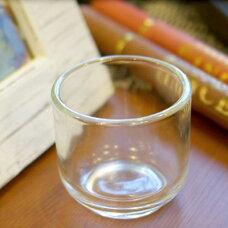 イタリア NAVY ガラス瓶 直径10cm EE342NN デッドストック