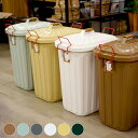 屋内外で使用可能!嬉しい3年間保証付 PALE×PAIL DUST BOX(ペールペールダストボックス) 60Lごみ箱 全6色(チャコールグレー、グリーン、ベージュ、ブルー(グレー、ブラウン)、ホワイト)