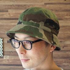 フランス軍カモフラージュ帽子 サファリハット