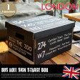 Bus Roll Sign Strage Box LONDON(バスロールサインストレージボックス ロンドン)2個入りパック IBR51716 JIG(ジェイアイジー)