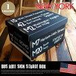 Bus Roll Sign Strage Box NEW YORK(バスロールサインストレージボックス ニューヨーク)2個入りパック IBR51717 JIG(ジェイアイジー)
