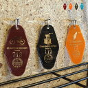 Motel Key Ring_BROOKLYN(モーテルキーリング ブルックリン)TRADITION ACOUSTIC(トラディションアコースティック)4カラー