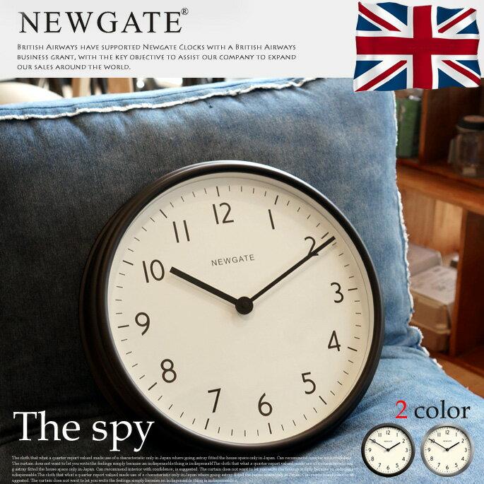 The spy(ザスパイ) 掛け時計 NEWGATE(ニューゲート) アートワークスタジオ(ART WORK STUDIO) TR-4293 カラー(ブラック・メタル) 送料無料