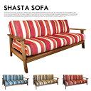 WOOD(無垢)×ファブリックSOFA♪ SHASTA SOFA(シャスタソファ) BIMAKES(ビメイクス) 全3色(オーシャン、サンセット、アース) 送..