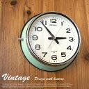 レトロ感溢れる昔ながらのスタイル! ヴィンテージクロック(Vintage Clock) 掛時計 セイコー(SEIKO) 送料無料