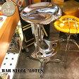 Bar stool Lotus(バースツール ロータス) 100-102 DULTON(ダルトン) カラー(クローム/アイボリー/レッド) 送料無料