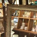 ヴィンテージ感漂うオシャレミラー♪ Wall mirror RECTANGLE S(ウォールミラー レクタングルSサイズ) S245-23S  鏡・ミラー DU...