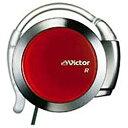 JVC 耳かけ型イヤホン (メタリック&レッド) HP-AL202-MR[HPAL202MR]