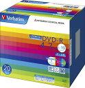 三菱化学メディア 1〜16倍速対応 データ用DVD-Rメディア CPRM付き (4.7GB・20枚) DHR47JDP20V1