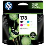 【あす楽関東】HP【純正】 HP178(4色) インクカートリッジ CR281AA [CR281AA]