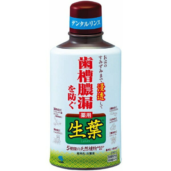 生葉液(しょうようえき) (330ml)【医薬部外品】小林製薬