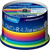 【あす楽対象】 三菱化学メディア 1〜16倍速対応 データ用DVD-Rメディア (4.7GB・50枚) DHR47JP50V3