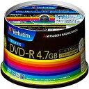 Verbatim バーベイタム データ用DVD-R ホワイト DHR47JDP50V3