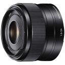 【送料無料】 ソニー 交換レンズ E 35mm F1.8 OSS【ソニーEマウント(APS-C用)】[SEL35F18C]