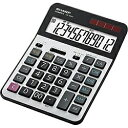 シャープ SHARP 実務電卓(セミデスクトップタイプ 12桁) CS-S952-X CSS952X