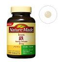 大塚製薬 【NatureMade(ネイチャーメイド)】鉄(アイアン)(200粒)