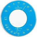 エンペックス 掛置兼用温湿度計 「リビ」 LV-4356(ブルー)[LV4356]