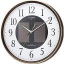 【送料無料】 リズム時計 ソーラー電波掛け時計 「エコライフ」 4MY807-023[4MY8070