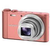 【送料無料】 ソニー SONY コンパクトデジタルカメラ Cyber-shot(サイバーショット) DSC-WX350(ピンク)[DSCWX350PC]