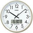 【送料無料】 カシオ 電波掛け時計 IC-2100J-9JF[IC2100J9JF] 【メーカー直送品・代金引換配送不可・時間指定不可】