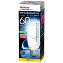 東芝 LED電球 (T形[全方向タイプ]・全光束810lm/昼白色相当・口金E26) LDT7N-G/S/60W[LDT7NGS60W]