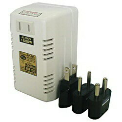 日章工業 NISSYO INDUSTRY 変圧器 (ダウントランス・熱器具専用)(1500W) KNP-155[KNP155]