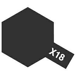 タミヤ タミヤカラー エナメル X-18 セミグロスブラック