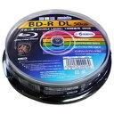 磁気研究所 Magnetic Laboratories HDBD-RDL6X10SP 録画用BD-R HIDISC 10枚 /50GB /インクジェットプリンター対応 HDBDRDL6X10SP
