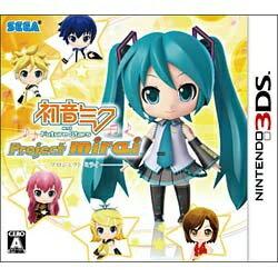 【送料無料】 セガゲームス 初音ミク and Future Stars Project mirai 通常版【3DSゲームソフト】