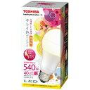 RoomClip商品情報 - 東芝 LED電球 「キレイ色」(一般電球形[全方向タイプ]・全光束540lm/電球色相当・口金E26) LDA9L-D-G[LDA9LDG]